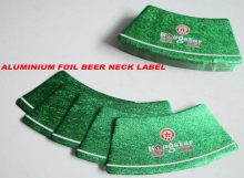aluminium foil beer neck label4