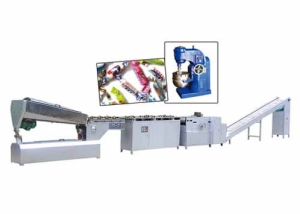 YNJ-250 CYLINDDRICAL CREAM CANDY PRODUCTION LINE
